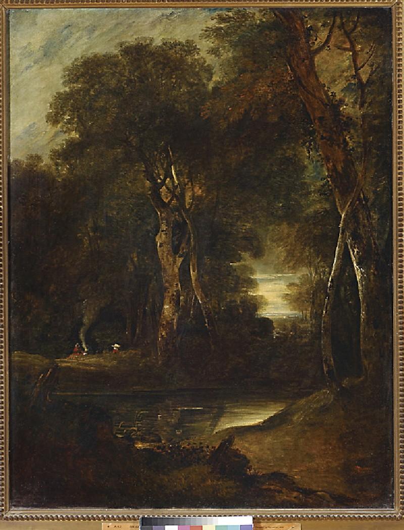Woodland Scene with Gipsies