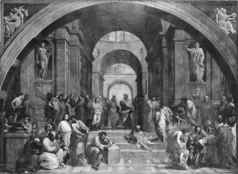 The School of Athens (WA1845.45)