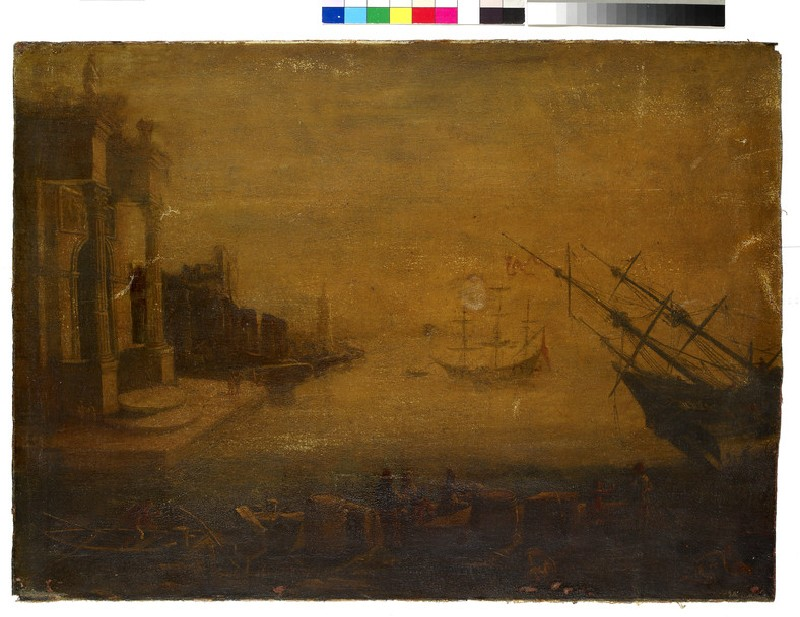 Seaport with Buildings (WA1845.47)