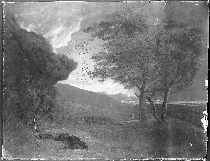 A Landscape: The Approach of a Shower