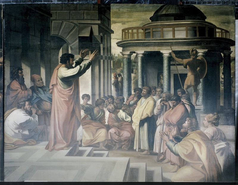 St Paul preaching at Athens (WA1845.53)
