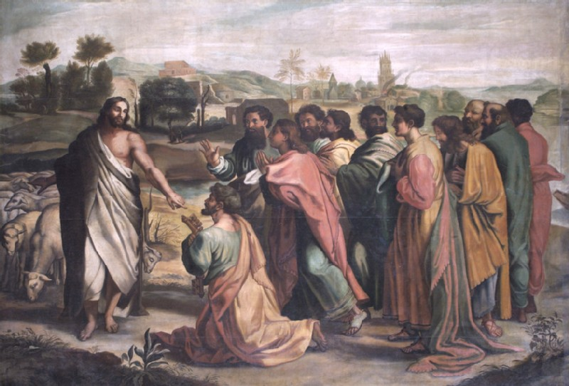 Christ's Charge to St Peter