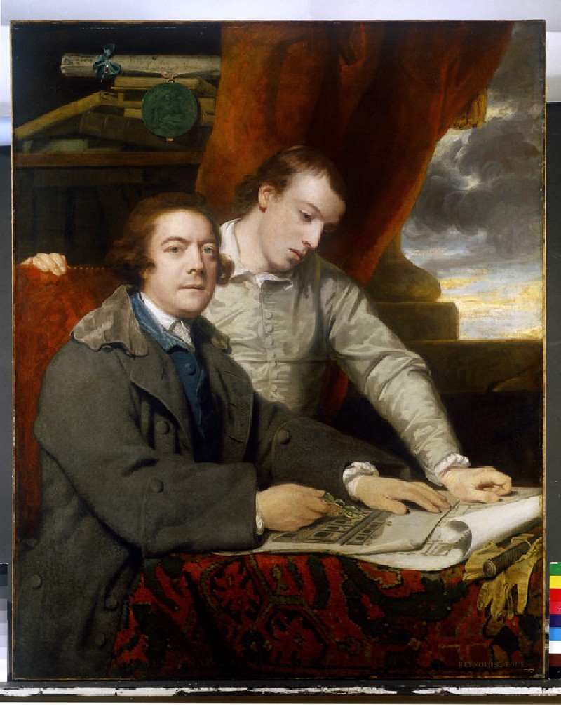 James Paine, Architect, and his Son, James