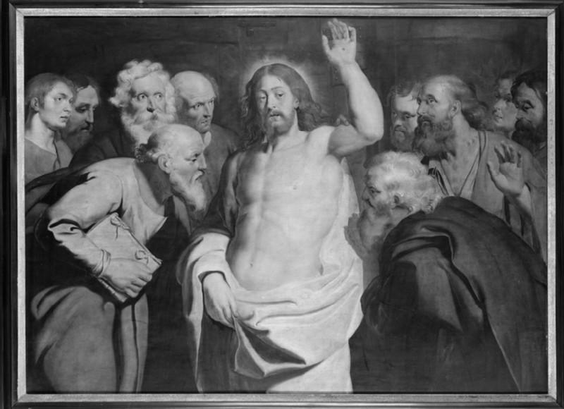 The Incredulity of St Thomas (WA1845.7)