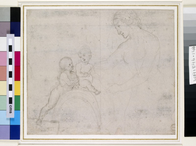 The Virgin and Child with St John (WA1846.146)