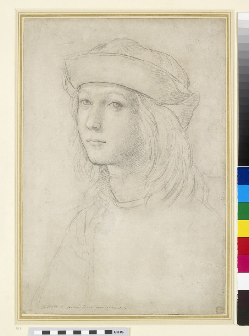 Portrait of an unknown youth, possibly a self-portrait (WA1846.158)