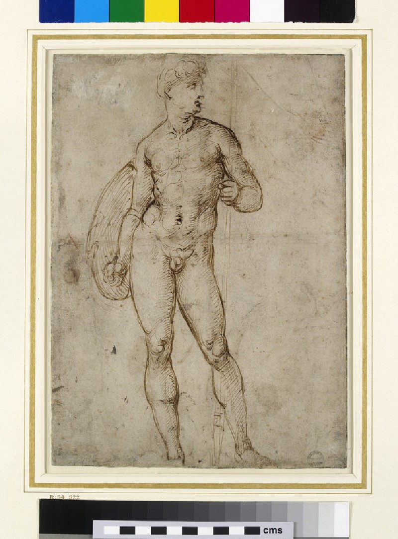 Recto: A Youthful Warrior