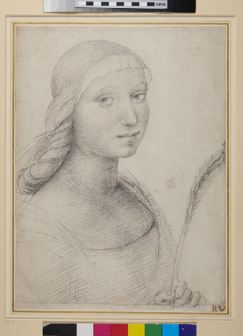 St Catherine (WA1846.18, verso)