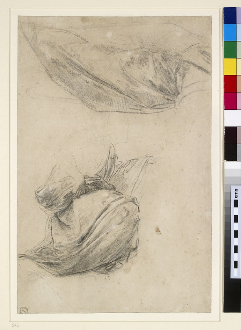 Two Studies of Drapery (WA1846.184)