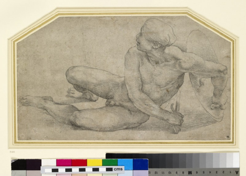 Recumbent Figure of a Soldier (WA1846.201)