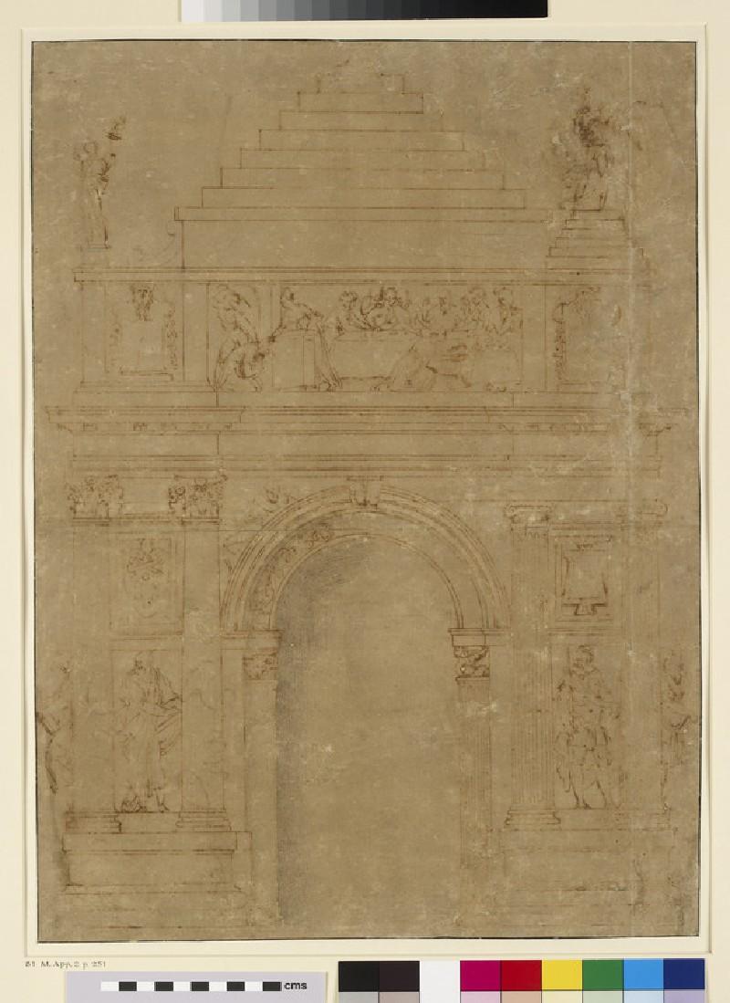 Design for a Medici tomb (WA1846.21)