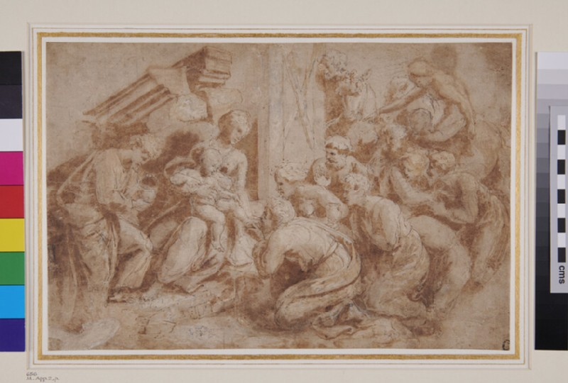 The Adoration of the Magi (WA1846.287, recto)