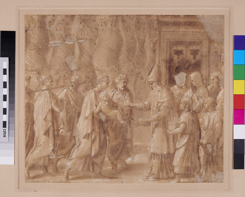 The Presentation in the Temple (WA1846.299, recto)