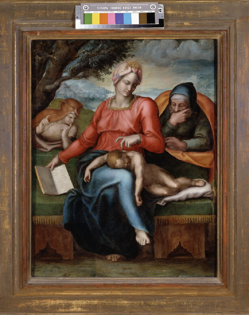 The Holy Family with the young St John (WA1846.311)