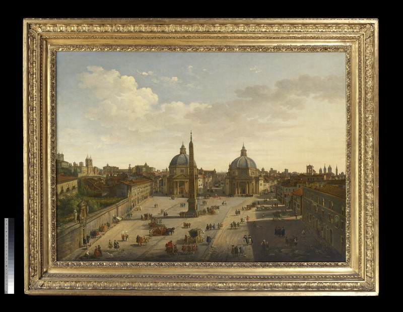 The Piazza del Popolo, Rome (WA1847.1)