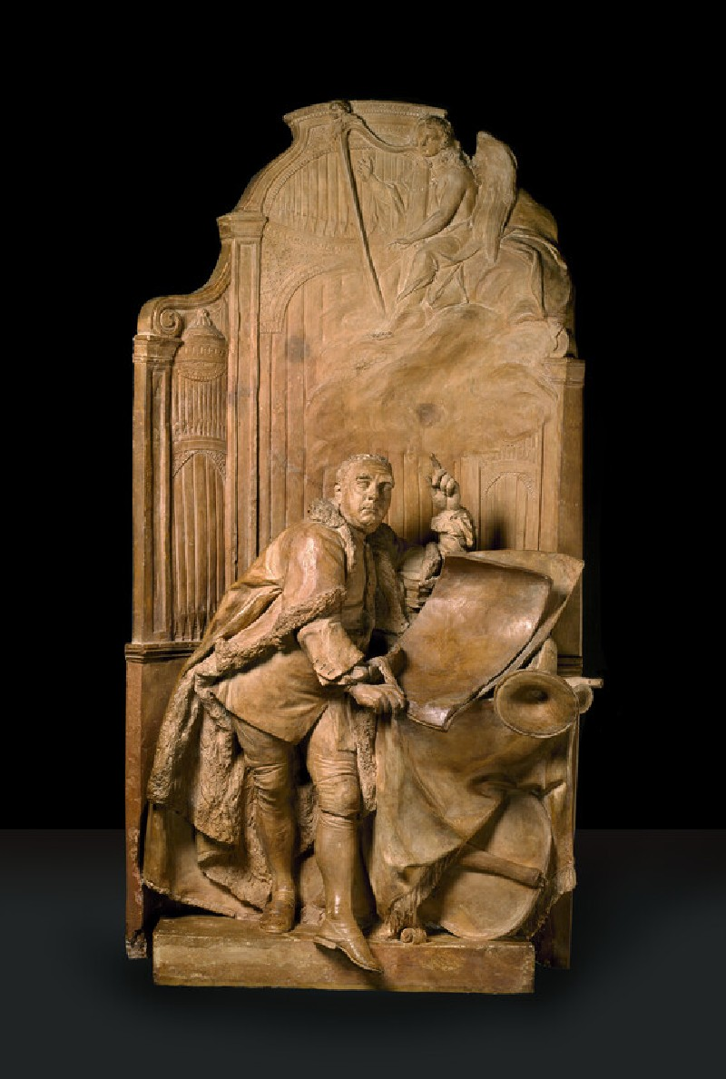 Modello for the monument to George Frideric Handel in Westminster Abbey (WA1848.1)