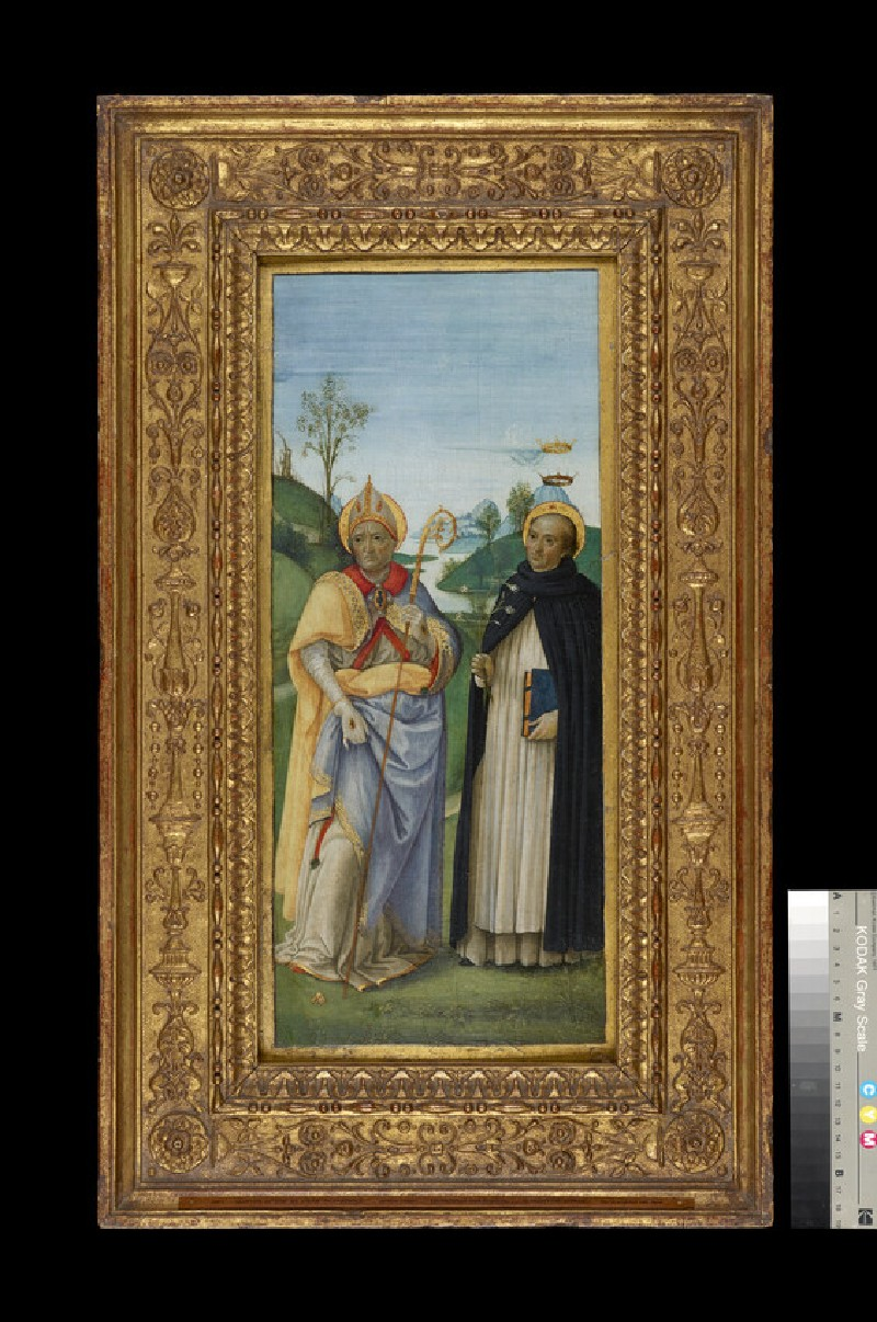 Sts Nicholas of Bari and Dominic (WA1850.12)