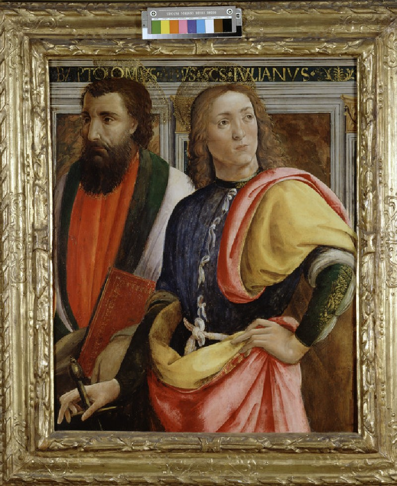 Sts Bartholomew and Julian the Hospitaler (WA1850.14)