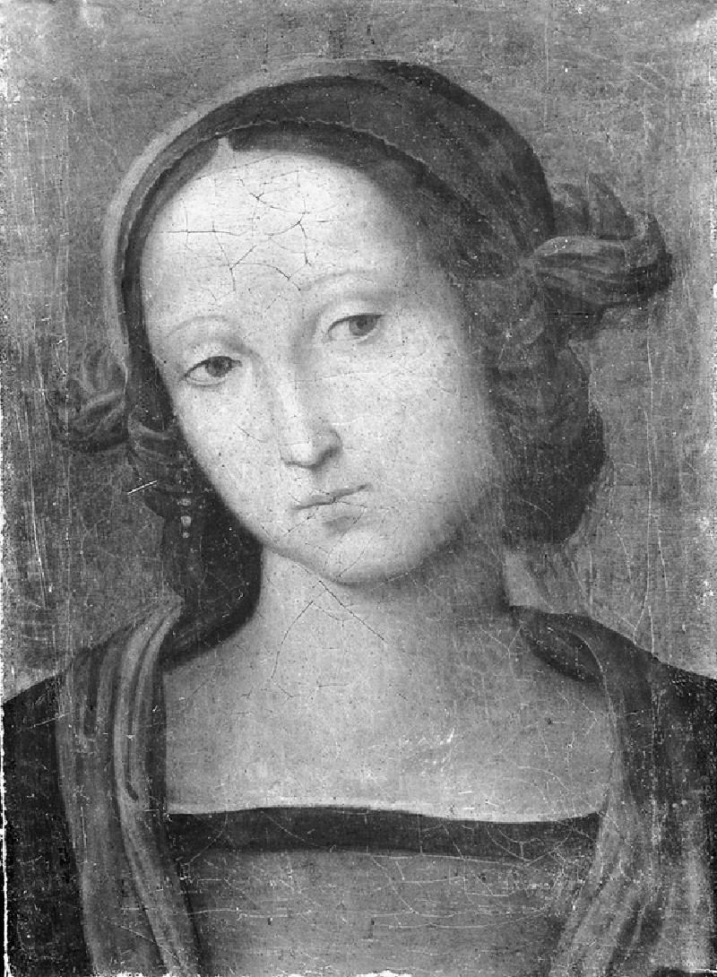 The Head of the Virgin (WA1850.37)