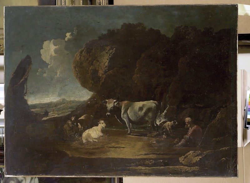 Landscape with Cattle (WA1850.40)