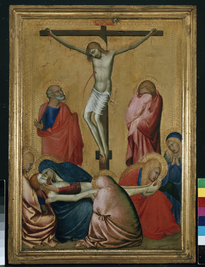 The Crucifixion and Lamentation (WA1850.9)