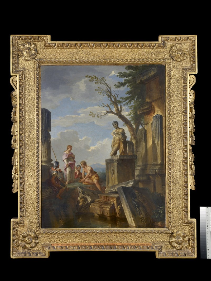 Ruins with a Sibyl and other Figures (WA1851.10)