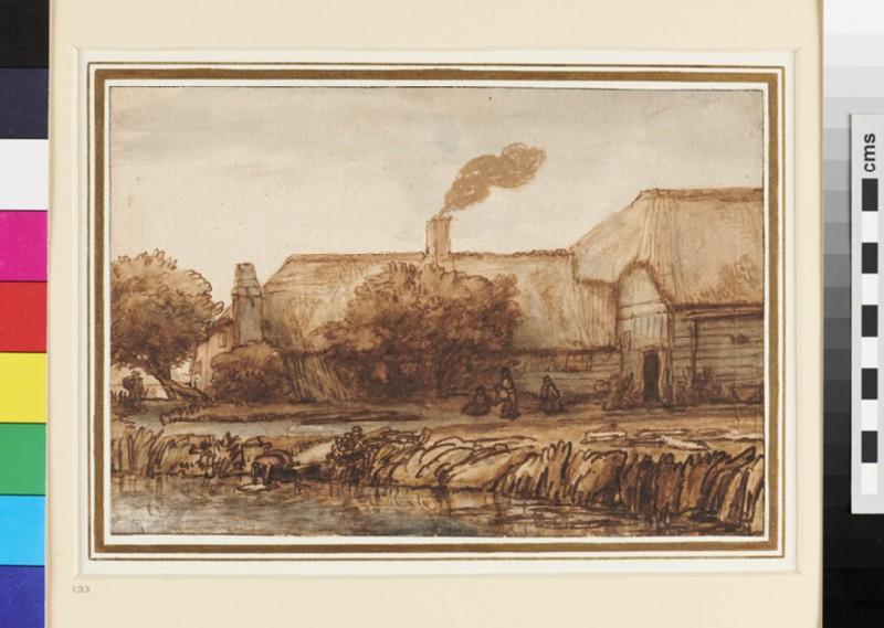 View of a Farmhouse