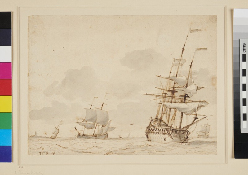 Shipping (WA1855.105, recto)