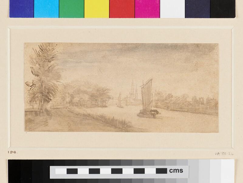 River Scene (WA1855.13, recto)