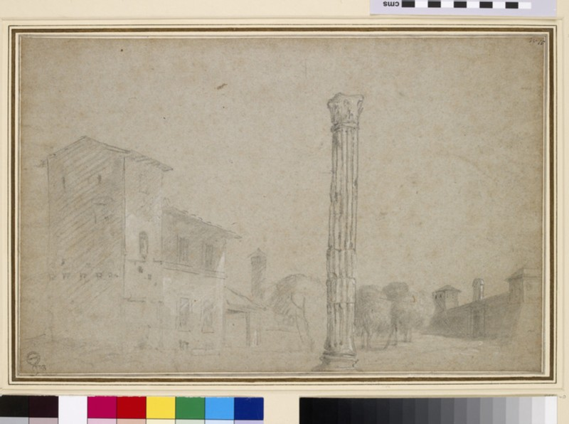 The Column of Phocas and the Campo Vaccino (WA1855.140)