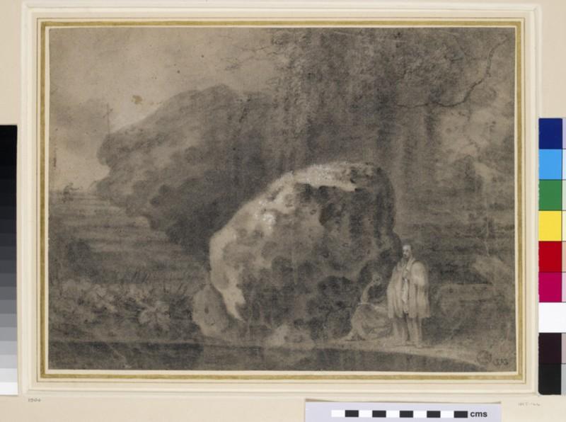 Hermits by a Pool (WA1855.144)
