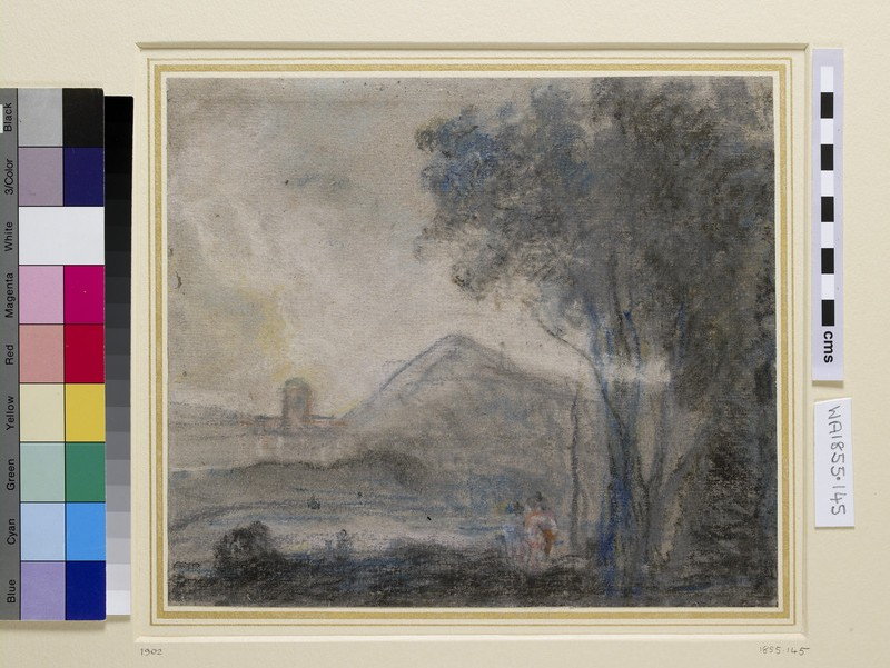 Study for 'Cicero and his Friends' (WA1855.145)