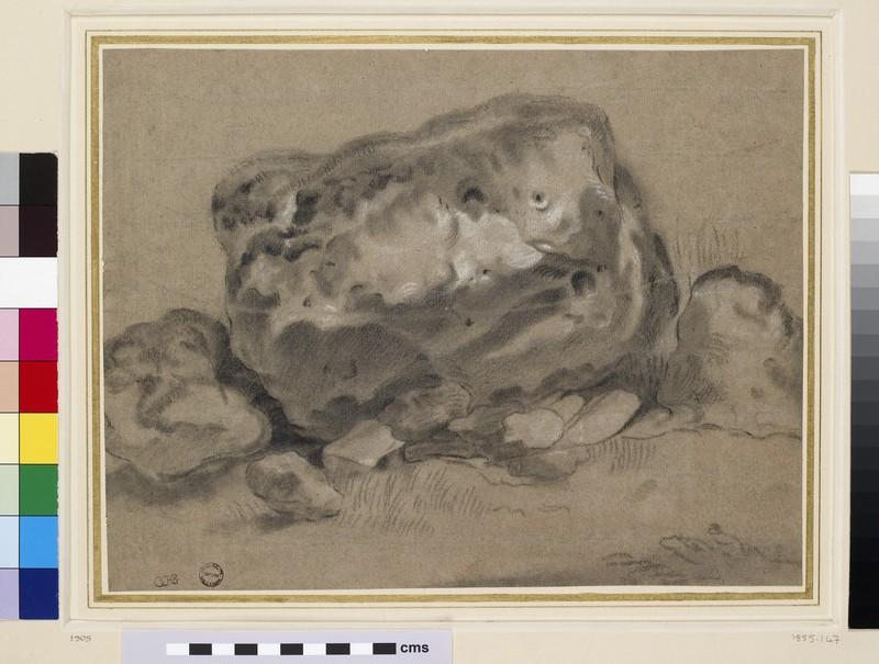 Study of a Boulder (WA1855.147)