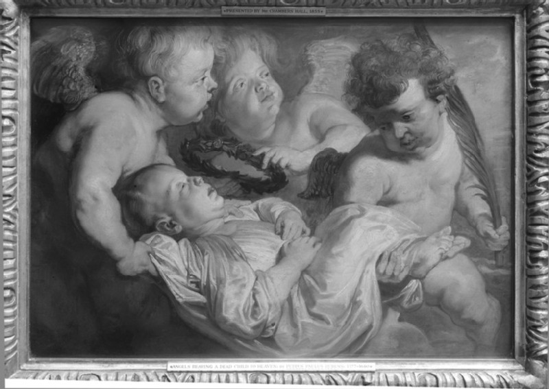 A dead Child carried to Heaven by Angels (WA1855.162)