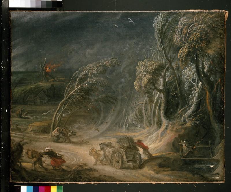 Landscape: a Storm (WA1855.164)