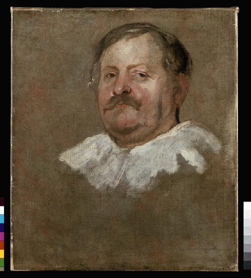 Head of a Man wearing a Falling Ruff
