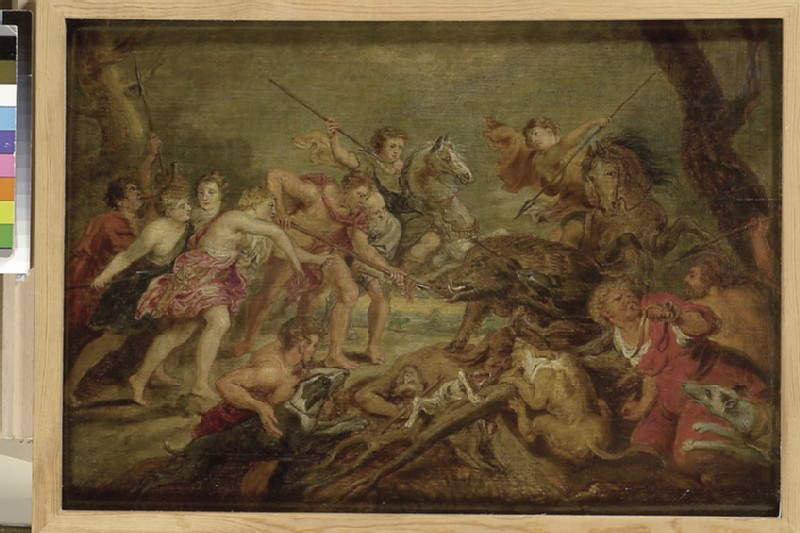 The Hunting of the Calydonian Boar (WA1855.175)