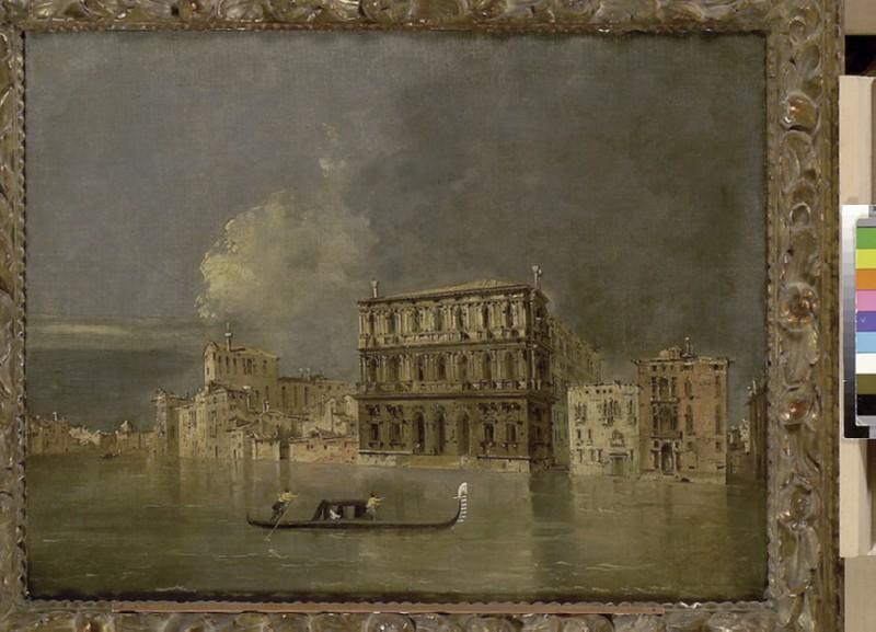 The Grand Canal with the Palazzo Corner della Ca' Grande (WA1855.182)