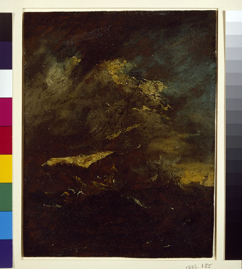 Two Vessels in a Storm (WA1855.185)