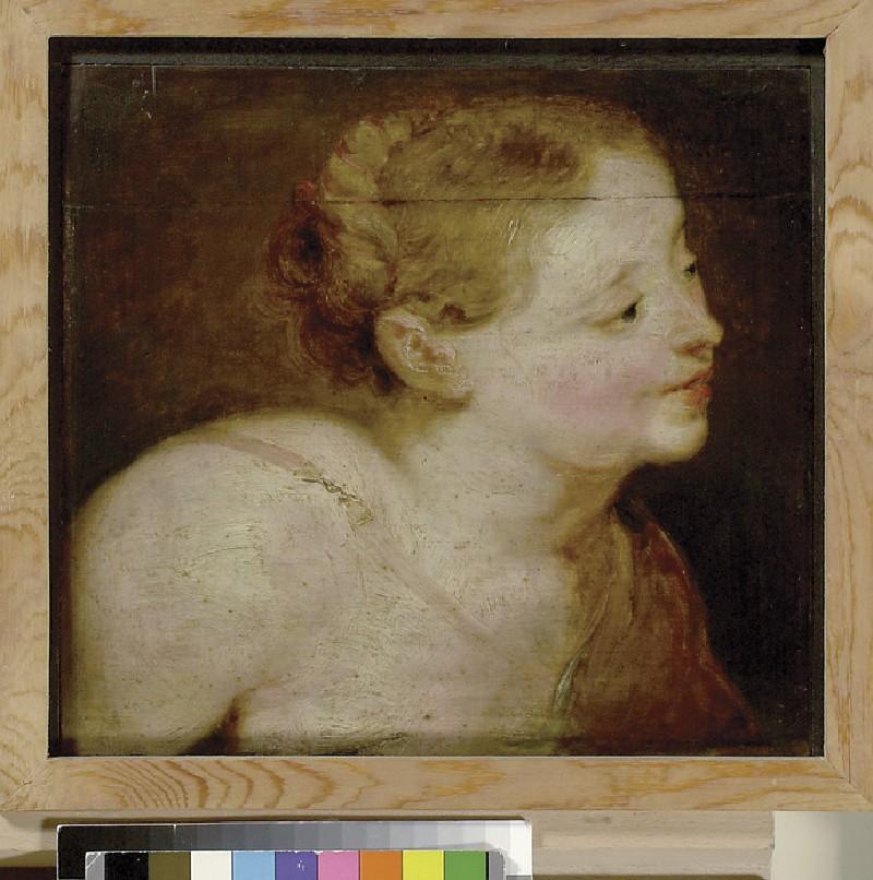Head of a Huntress, possibly Diana (WA1855.189)