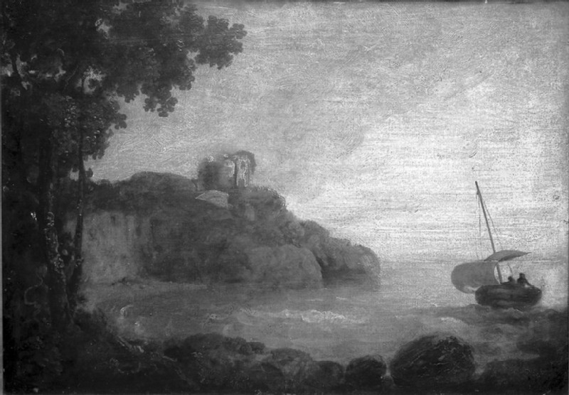 Bay on a Sea Coast (WA1855.203)