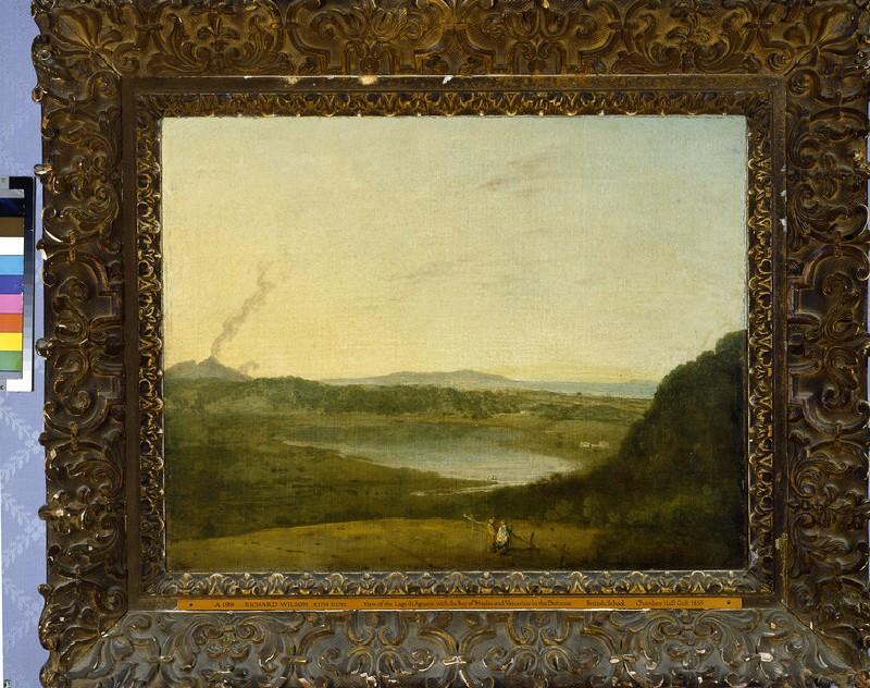 The Lago d'Agnano (WA1855.204)