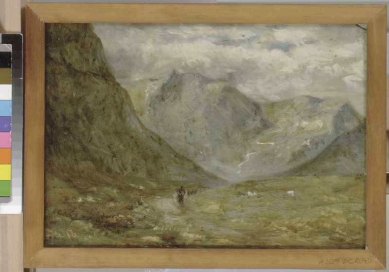 The Pass of Llanberis