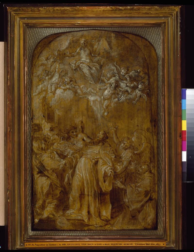 St Augustine in Ecstasy (WA1855.228)