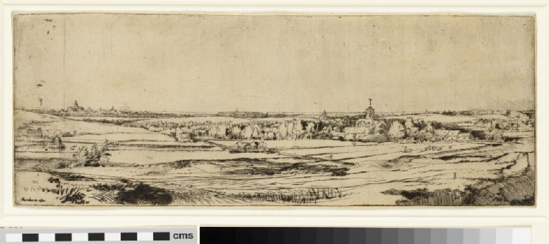Bleaching-fields near Haarlem