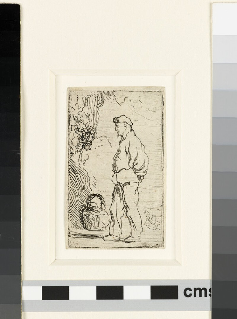 A peasant standing (WA1855.303)