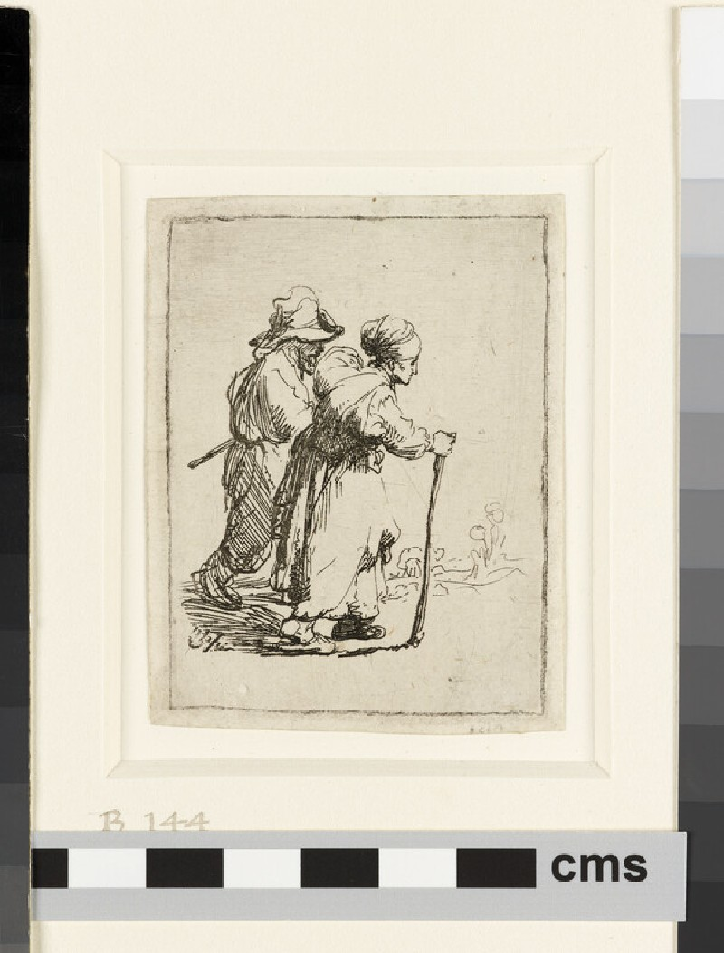 Two Tramps, a Man and a Woman (WA1855.342)