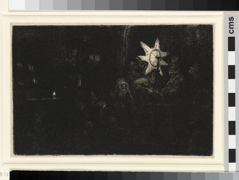The star of the Kings: a night piece (WA1855.346)