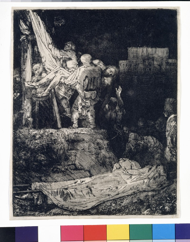 The Descent from the Cross by torchlight (WA1855.351)