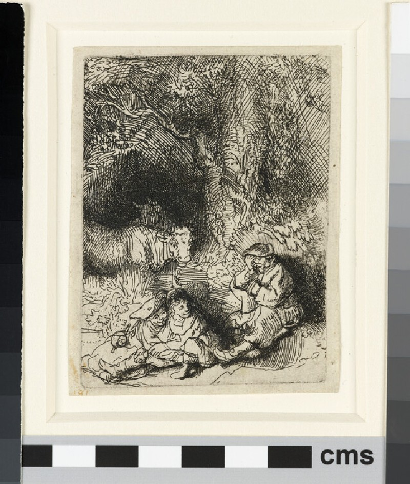 The sleeping Herdsman (WA1855.356)